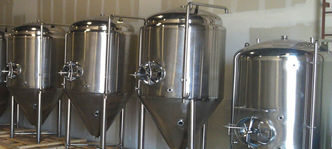 Passivation of brewing tanks
